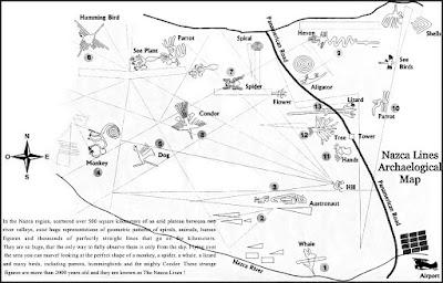 Mapa de líneas Nazca