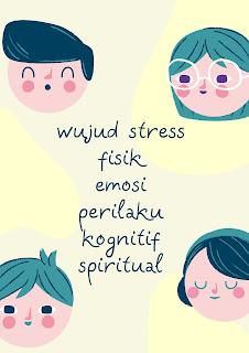 wujud stres pada manusia