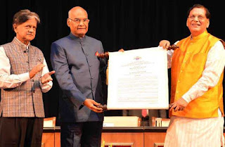 bindeshwar-pathak-felicitated-with-lal-bahadur-shashtri-national-award