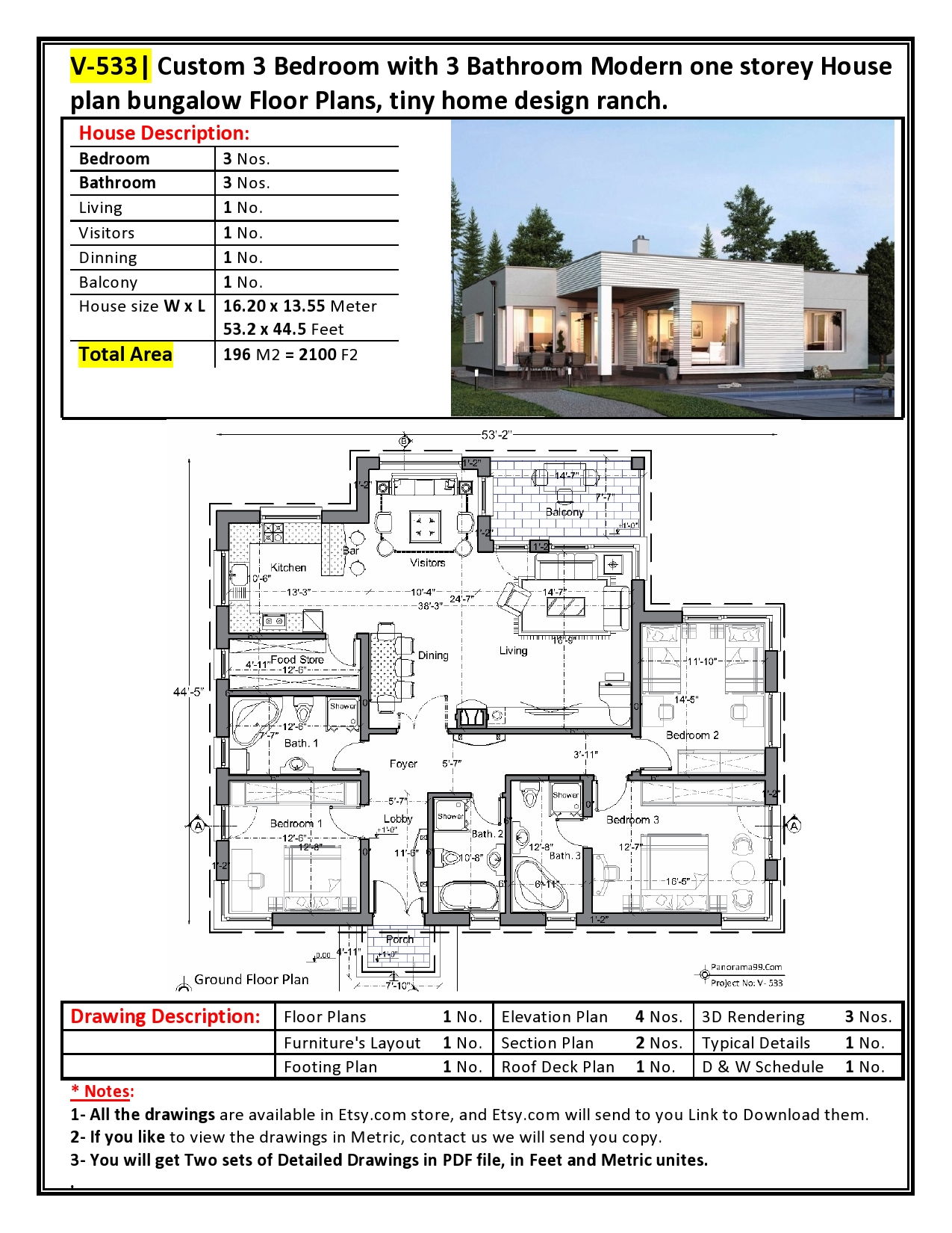 V 387 Modern House Plans Ebook In Pdf File Bungalow Duplex Triplex With 2 6 Bedroom