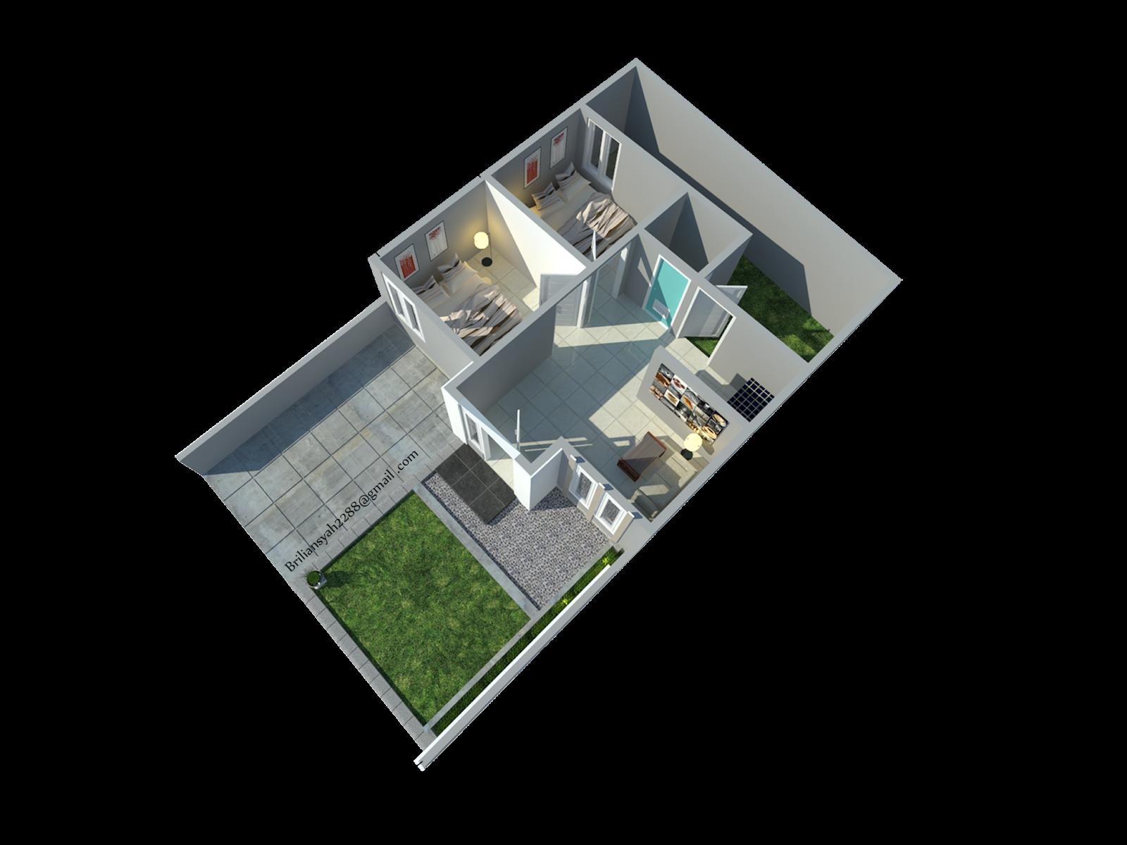Desain minimalis elegant arsitektur eksterior