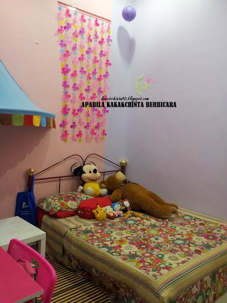 Susun Atur Bilik Tidur Anak Perempuan