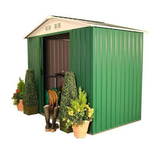 BillyOh Ashington 6x4 Metal Shed