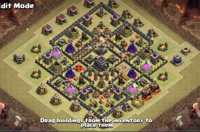 Base COC TH9 War 10
