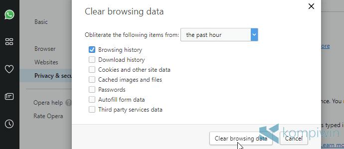 browsing history