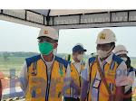 Anggota Komisi V DPR RI Bambang Hermanto Bersama Ka BBWS Citarum Pantau Perbaikan Tanggul Waduk Cipancuh