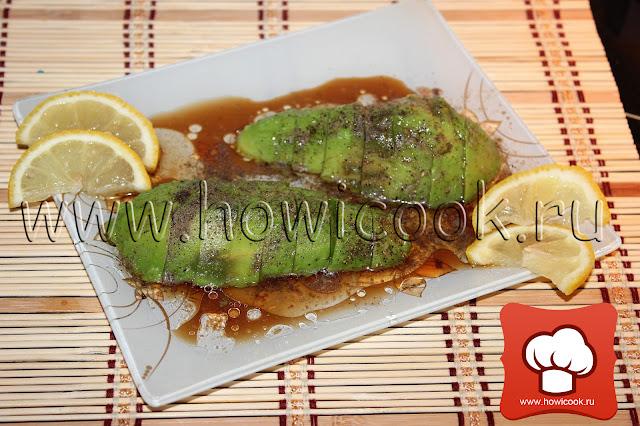 рецепт блюда с авокадо