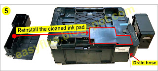 Modify the waste ink storage container for Epson printer