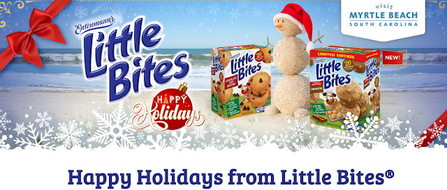 Entenmann's Little Bites want you to enter weekly for a chance to win a family vacation to Myrtle Beach plus weekly giveaways of Little Bites Product!