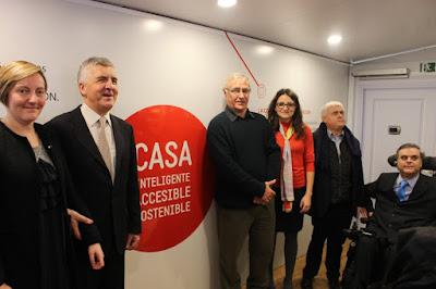 Presentación de la Casa Inteligente, Accesible y Sostenible