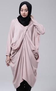 Baju muslim tunik untuk lebaran