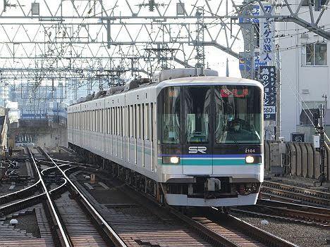 【ダイヤ改正でも見られない!】埼玉高速2000系の急行 目黒行き
