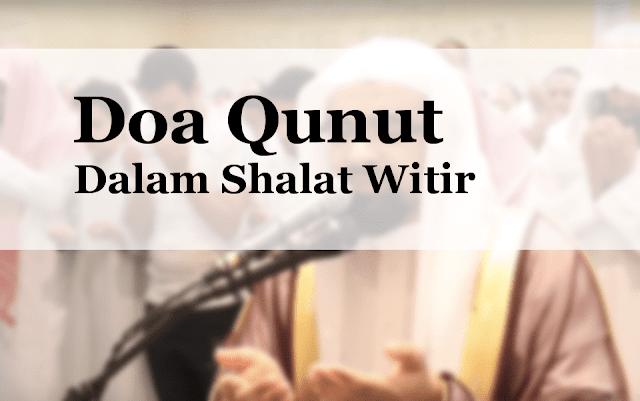Qunut Witir Setelah Pertengahan Ramadhan
