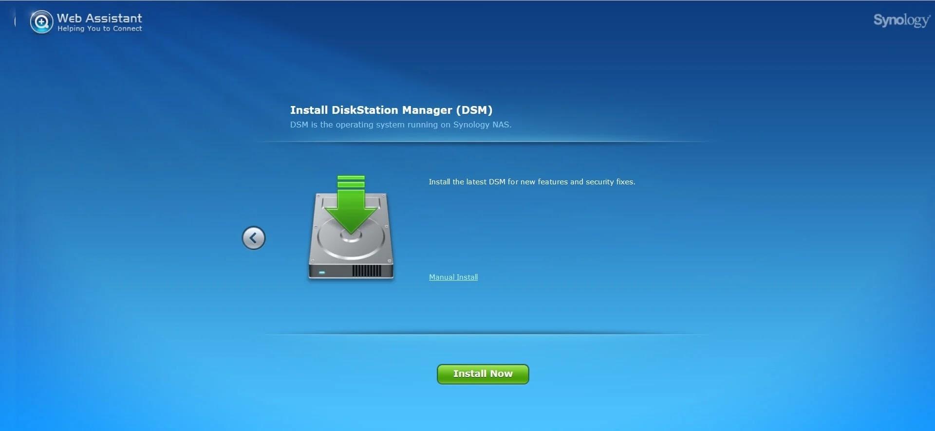 Synology DiskStation DS920+ DiskStation Manager