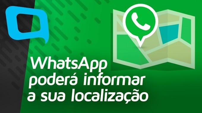 Recurso do WhatsApp permitirá acompanhar a localização de amigos