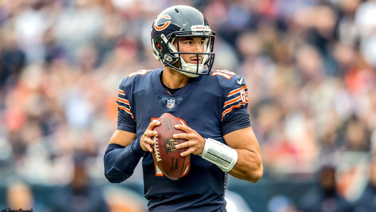 American Football_Beleaguered QB Mitchell Trubisky gets begin for Bears vs. Giants