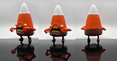 Strangecat Toys Exclusive Cornelius Fall Edition Vinyl Figure by Alex Pardee x 3DRetro