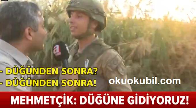 Türk Askeri Düğüne Gidiyoruz. Dünyada Savaşa Giderken Bunu Söyleyecek Hiç Bir Ülkenin Askeri Yoktur.