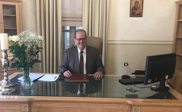Ανέλαβε επίσημα καθήκοντα Περιφερειάρχη Πελοποννήσου ο Παναγιώτης Νίκας (βίντεο)