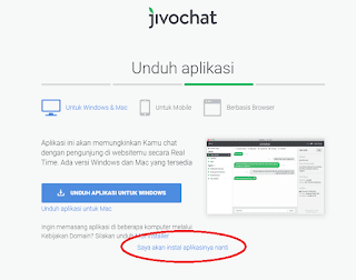 Live Chat Gratis di Blog