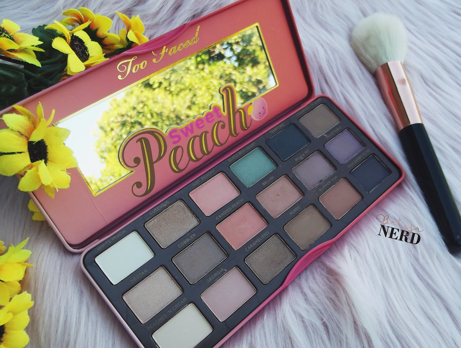 Resenha paleta Sweet Peach Too Faced - Word Makeup
