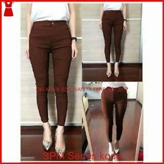 22SPM Celana Jeans Wanita Import Legging Motif Bj6122