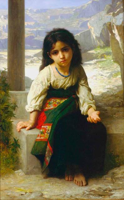 Адольф Вильям Бугро - Попрошайка (1880)