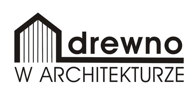 Drewno w architekturze - logo konkursu