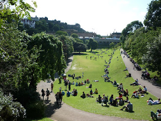 Edinburgh Princes Street Park