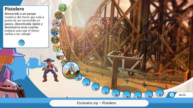 Roller Coaster Tycoon 3 Pistolero