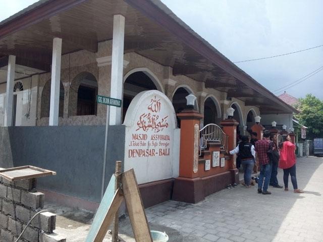 Masjid Assyuhada di Bali