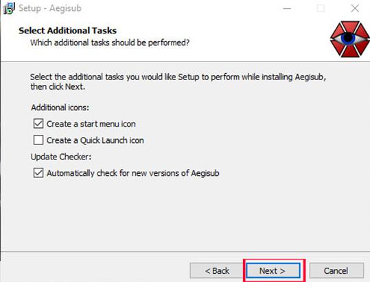 Hướng dẫn cài đặt phần mềm Aegisub b