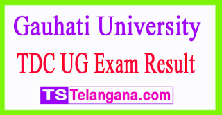 Gauhati University TDC UG Exam Results