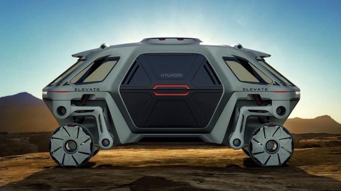 Hyundai Elevate, el auto-robot que puede caminar y trepar