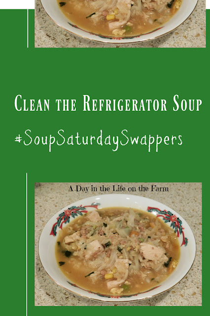 Clean the Refrigerator Soup pin