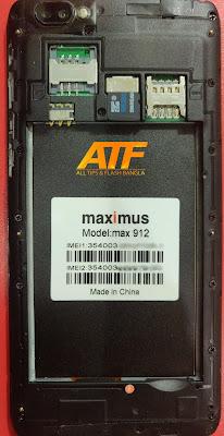 MAXIMUS MAX 912 FLASH FILE