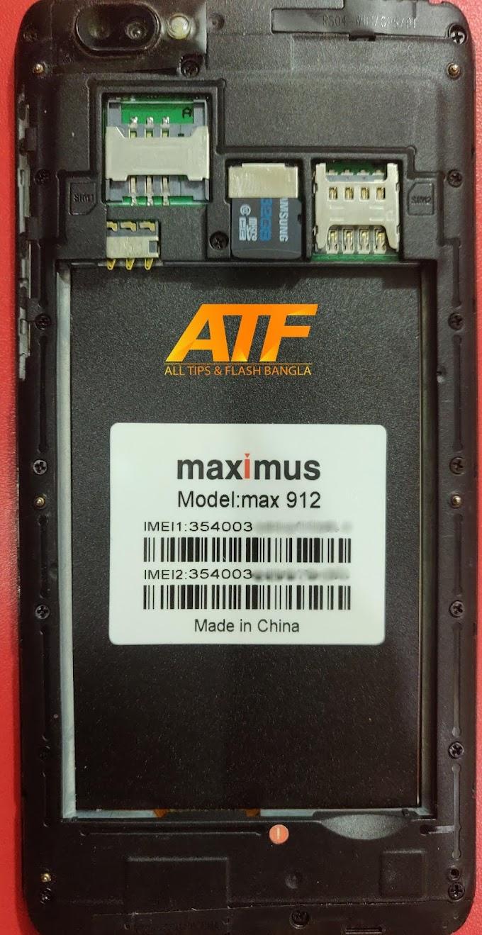 MAXIMUS MAX 912 FLASH FILE FIRMWARE STOCK ROM