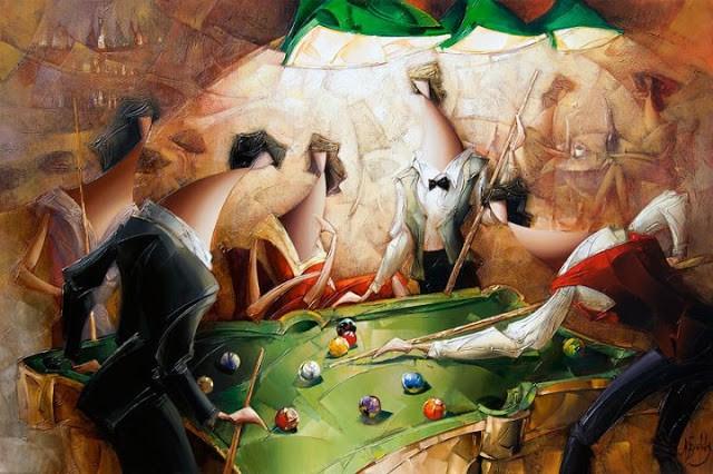 Израильский художник. Nathan Brutsky 11