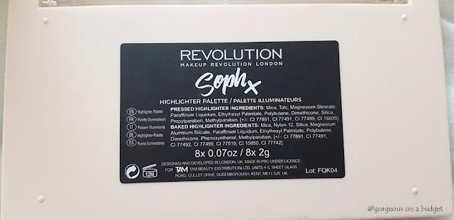 SophX Ingridients Notino.hr