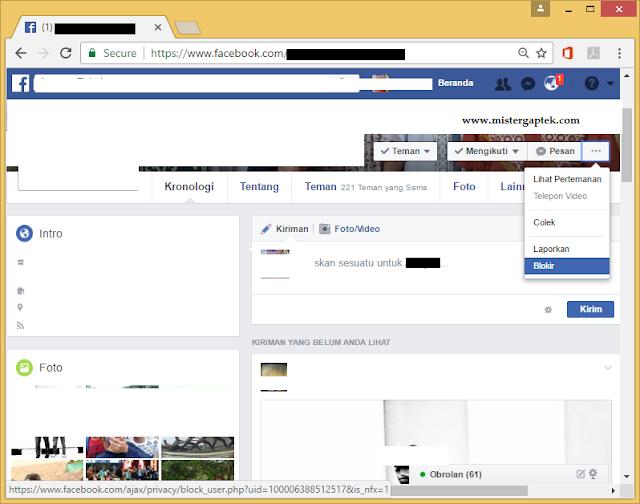 Cara Blokir Teman di Facebook yang Mengganggu