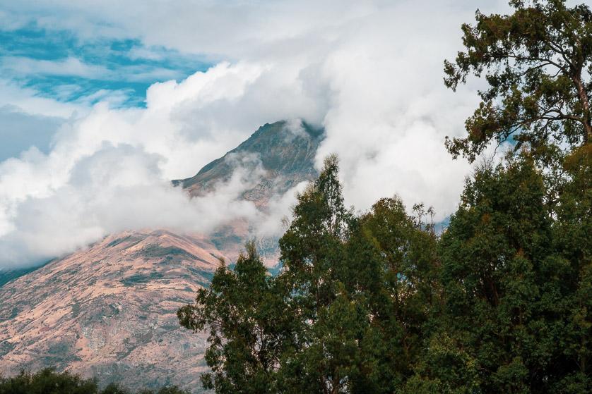 Mountain scenery, Queenstown, New Zealand.
