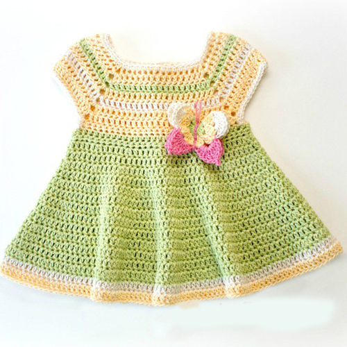 Butterfly Kisses Baby Dress - Free Pattern