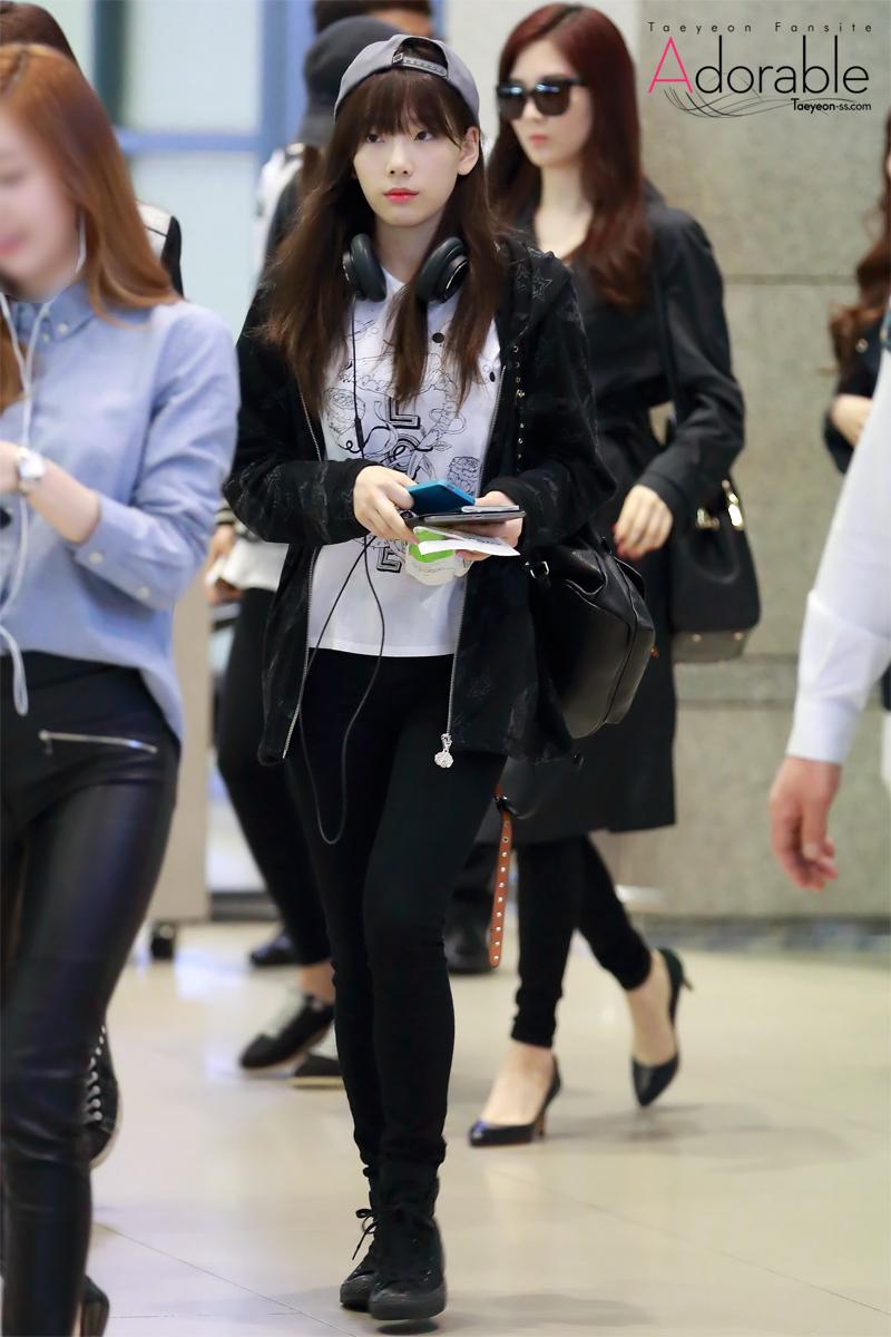 Airport Fashion Para Member SNSD Terbaru | gebeet.com