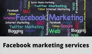 Facebook advertising services