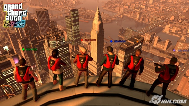 all gta protagonists meet the robinsons