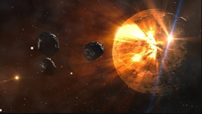 "The meteor that ""touched"" Earth made Venus come to life."