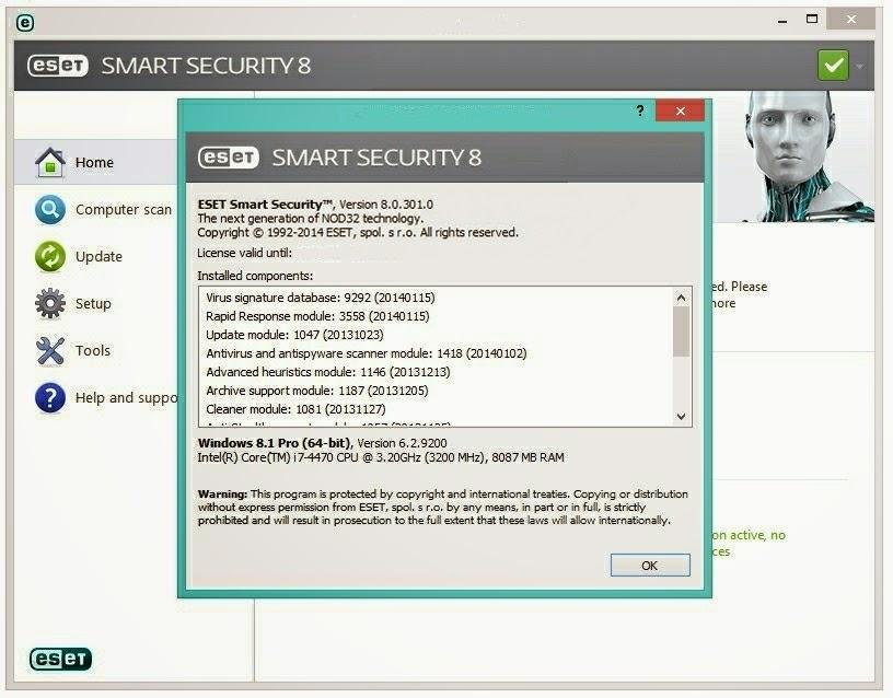ESET Smart Security 8 Crack - TNod - Haxtek