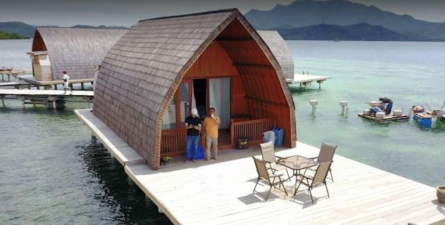 10 Foto Penginapan Andreas Resort Harga Paket Villa Pahawang