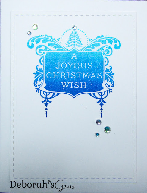 Joyous Christmas Wish - photo by Deborah Frings - Deborah's Gems