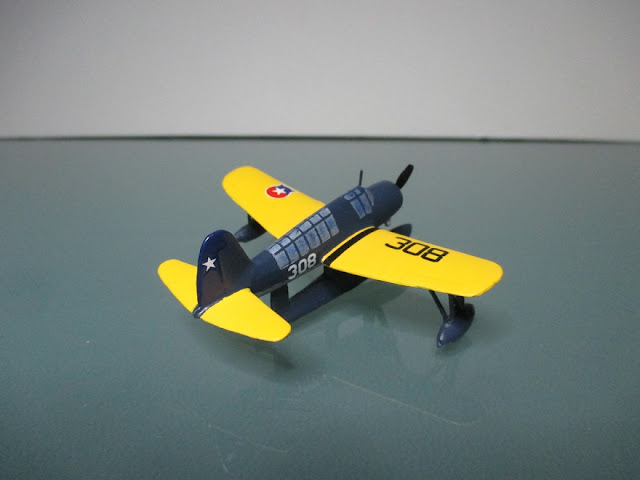 1/144 Vought OSU2 Kingfisher diecast metal aircraft miniature